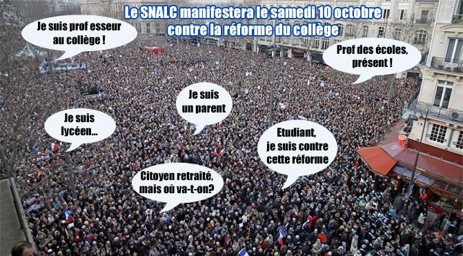 Après la grève du 17 septembre, manifestation citoyenne le 10 octobre