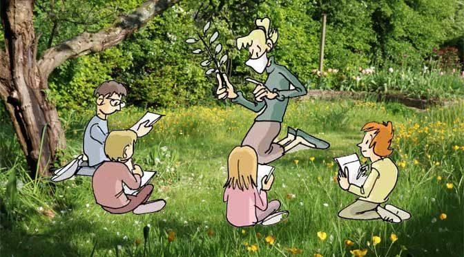 La petite école dans la prairie